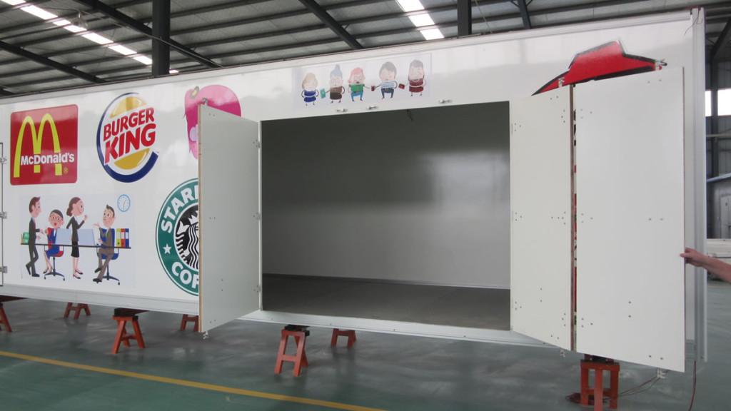 3 Door Slide Entry