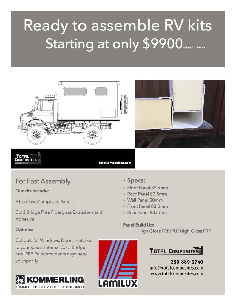 Fiberglass Panels and Truck Body Kits | Total Composites