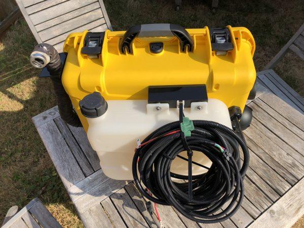 Portable Diesel Heater 2d 12v Total Composites